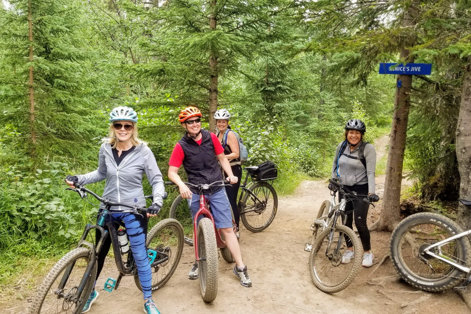 Mountain biking in Anchorage