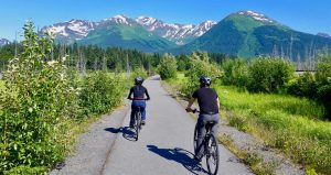 bike and tram girdwood guided tour anchorage