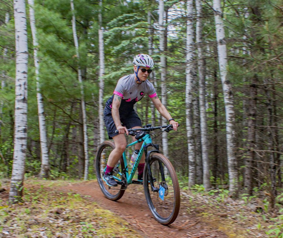 womens mountain bike lessons anchorage